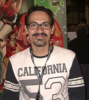 Humberto Ramos - Ramos at the New York Comic Con in Manhattan, October 9, 2010.
