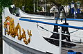 100 Jahre Dampfschiff 'Stadt Rapperswil' - Tag der offenen Dampfschiff-Türe am Bürkliplatz - Bugzier und Schiffsglocke 2014-04-25 14-55-49.JPG