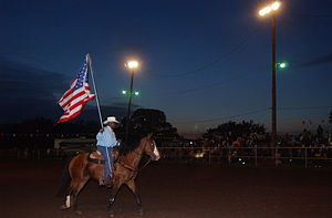 Boley, Oklahoma - Image: 100th Birthday Rodeo & Bar B Q Festival, Boley, Oklahoma