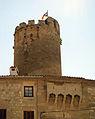 119 Castell, plaça del Bisbe Comelles, torre.jpg