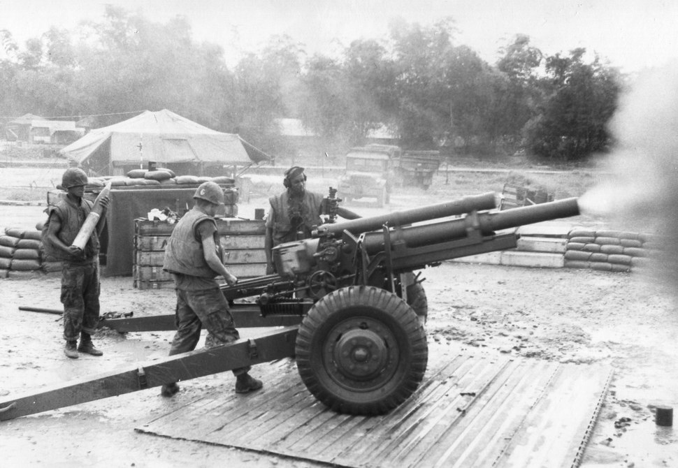 11th Marine 105mm in Vietnam