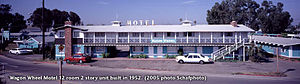 Wagon Wheel, Oxnard, California - In 1952 this 12 unit addition was built to keep up with demand at the popular Motel