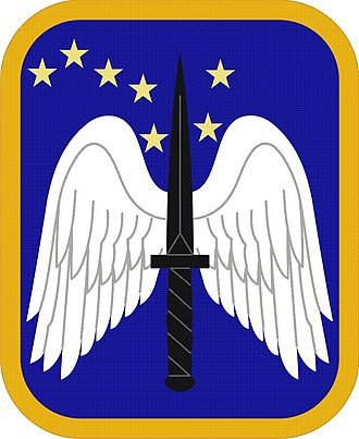 Brigade insignia of the United States Army - Image: 16 Avn Bde SSI