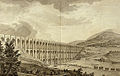 1756 - ITALY - Aqueduct Carolino - I ponti della Valle - drawing of structure and architecture (' 700 Italian Engineering ).jpg