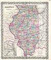 1855 Colton Map of Illinois - Geographicus - IL-colton-1855.jpg