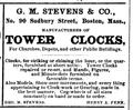 1873 Stevens SudburySt BostonDirectory.png