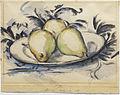1888, Cézanne, Three Pears.jpg