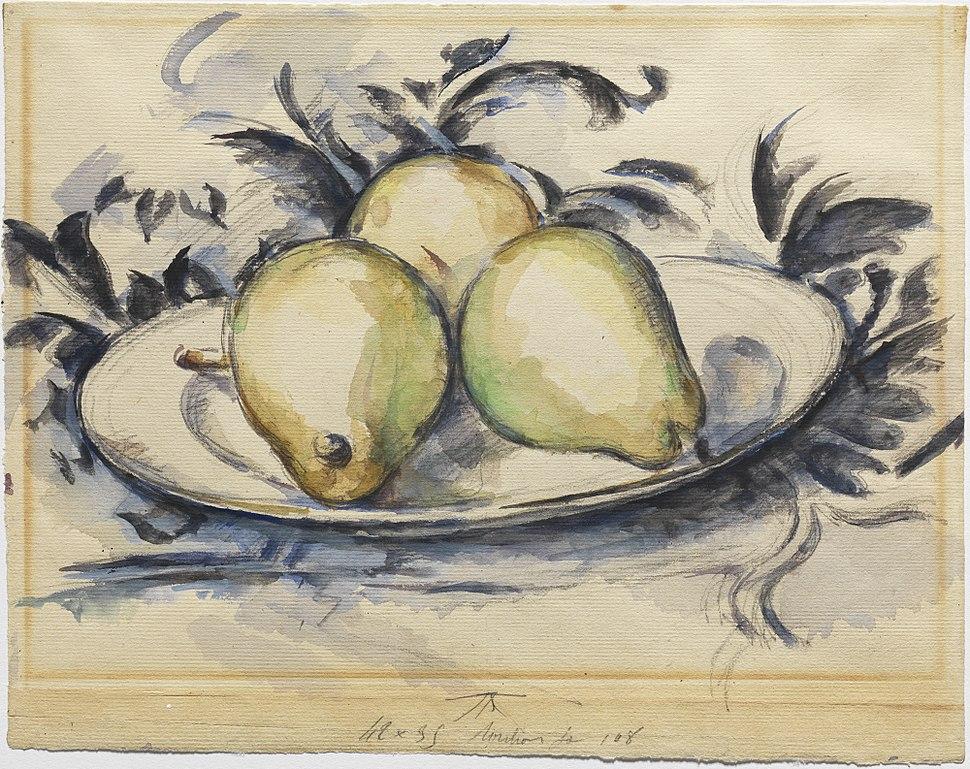 1888, C%C3%A9zanne, Three Pears