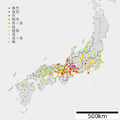 1891 Nobi earthquake intensity.png