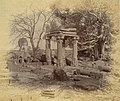 1892 photo of Hindu temple ruins Gupta Empire era at Eran, Bina Sagar District Madhya Pradesh.jpg