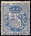 1894 20c telegraph stamp of Cuba.JPG