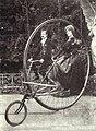 1900 oder 1901 Karl Jatho Riesen-Sociable-Zweirad Tandem Excelsior Gebr. Forcke Hannover-List.jpg