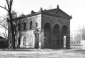 Charlottenburg Gate - Southern custom house, about 1900