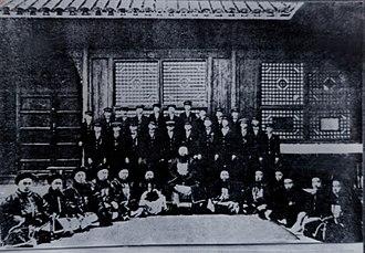 Jinan University - Duanfang and students