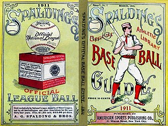Spalding (company) - 1911 Spalding Base Ball Guide