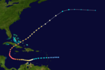 1932 Atlantic hurricane 14 track.png