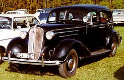 Chevrolet Standard Serie FC Touring-Limousine (1936)