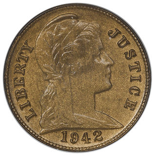 1942 experimental cents
