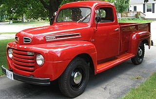Ford F-Series (first generation) Motor vehicle