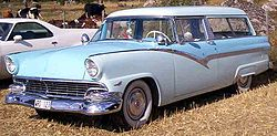 Ford Parklane Stationwagon, de 1956