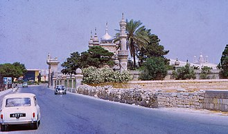 Islam in Malta - Turkish Military Cemetery in Marsa (Malta) (Ottoman), 1967