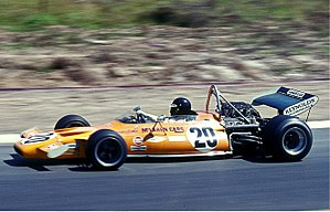 1971 German Grand Prix - Image: 1971 Peter Gethin, Mc Laren