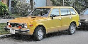 Honda Civic (first generation) - Image: 1979 Honda CVCC