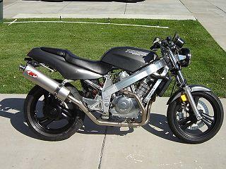 Honda NT650 motorcycle