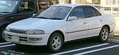 Toyota Carina 1988, 1989, 1990, седан, 5 поколение, T170 ...