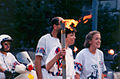 1996 Olympic Torch during the relay.jpg