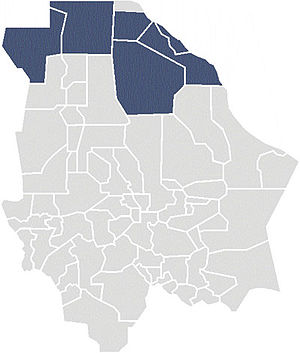 First Federal Electoral District of Chihuahua - District Chih-I