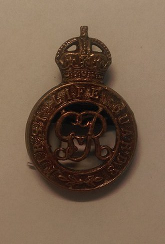 1st Regiment of Life Guards - Cap badge of the 1st Life Guards