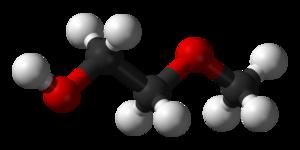 2-Methoxyethanol - Image: 2 methoxyethanol 3D balls