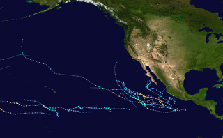 2002 Pacific hurricane season Period of formation of tropical cyclones in the Eastern Pacific Ocean in 2002
