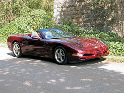What is a c5 corvette