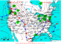 2005-03-20 Surface Weather Map NOAA.png