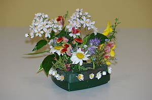 English: Floral arrangement