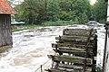 2007-09-30,10b, Schloss Rheda,Kornmühle, Emshochwasser.jpg