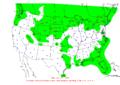 2007-10-07 24-hr Precipitation Map NOAA.png
