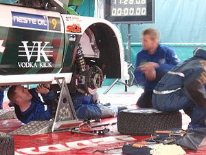 2007 Rally Finland preparations 10.JPG