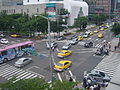 2008Computex Day5 the Traffic at Song-shou Song-chih Intersection-1.jpg