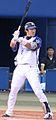 20100808 Seiichi Uchikawa, outfielder of the Yokohama BayStars, at Yokohama Stadium.JPG