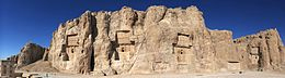 20101229 Naqsh e Rostam Shiraz Iran more Panoramic.jpg