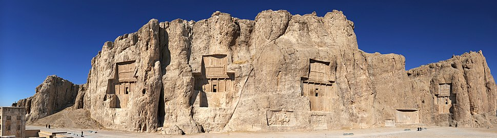 20101229 Naqsh e Rostam Shiraz Iran more Panoramic