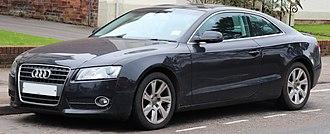 Audi A5 - Pre-facelift Audi A5 Coupé 2.0 TDi SE