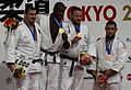 2010 World Judo Championships - +100kg podium.JPG