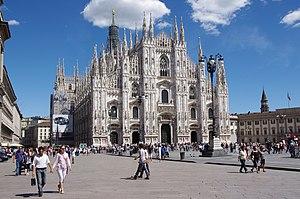 English: Milan Cathedral Français : La cathédr...