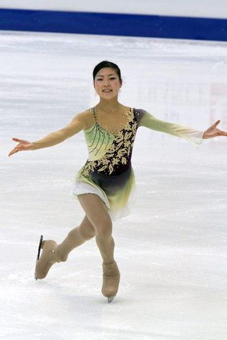 Koreans in Japan - Image: 2011 Four Continents Chae Hwa KIM