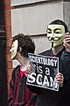 2011 March 19 Protest against Scientology in Dublin, Ireland 09.jpg