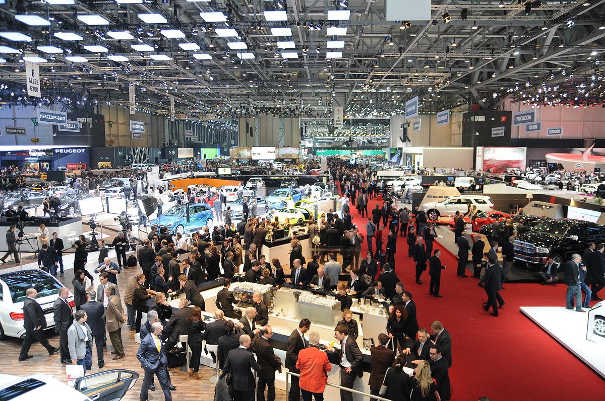 Geneva motor show wikidata for Salon geneve auto